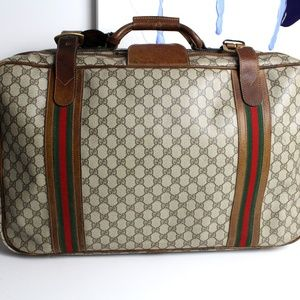 Gucci Vintage Monogram Suitcase
